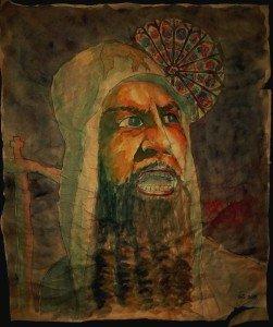 Le Metropolite Philippe de Moscou - Ivan le Terrible (Eisenstein) dans Dessin - Aquarelle P1010508-251x300
