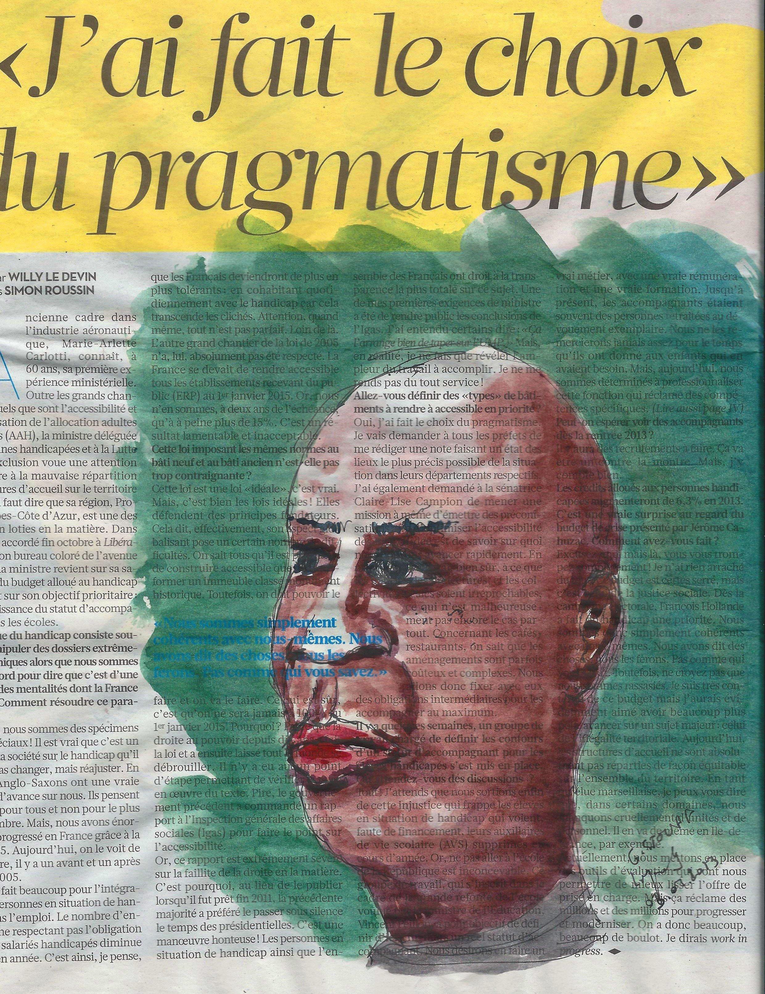 Libération du 13 novembre 2012 - page II - Dessin dans le métro dans Dessin - Aquarelle metro-230004